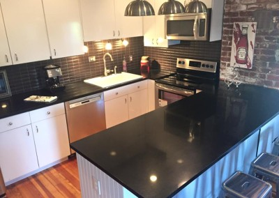 Black Quartz in Cincinnati Condo